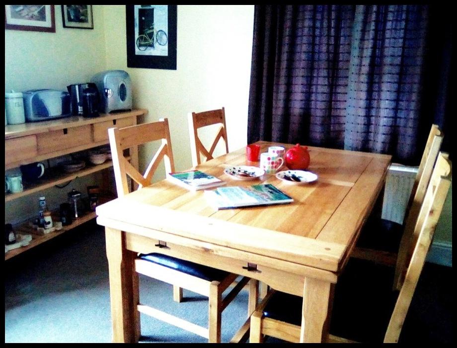 Peak District b&b dining room