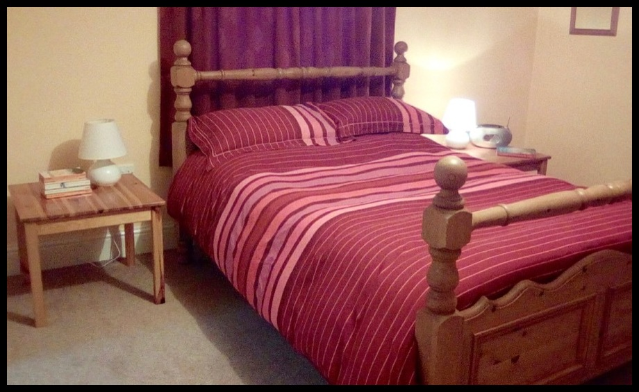 Peak District bed and breakfast double room